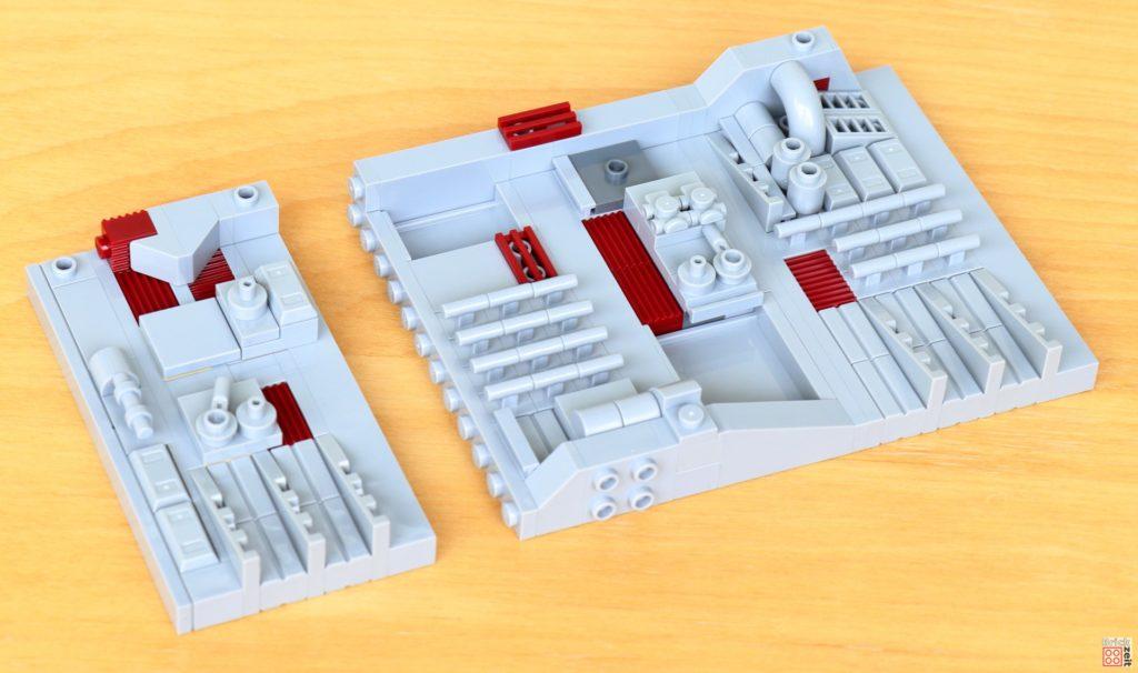 LEGO Star Wars 40407 - Dritter Teil wird befestigt | ©2020 Brickzeit