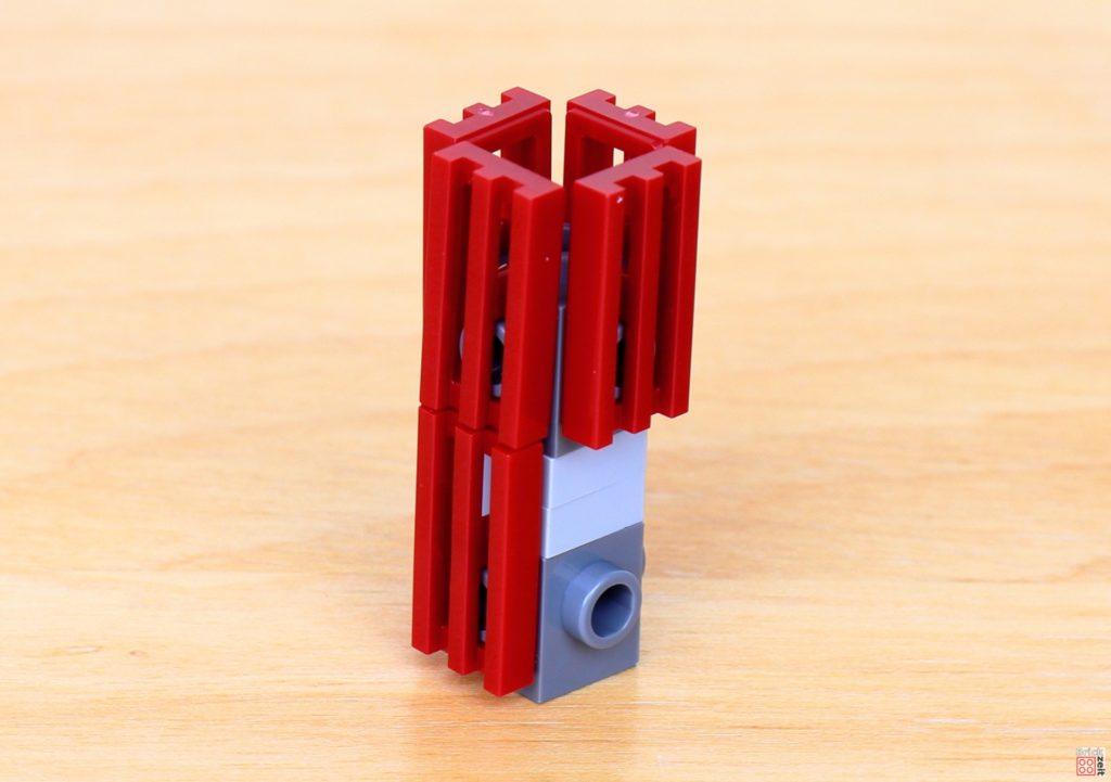 LEGO Star Wars 40407 - Turm wird verkleidet | ©2020 Brickzeit