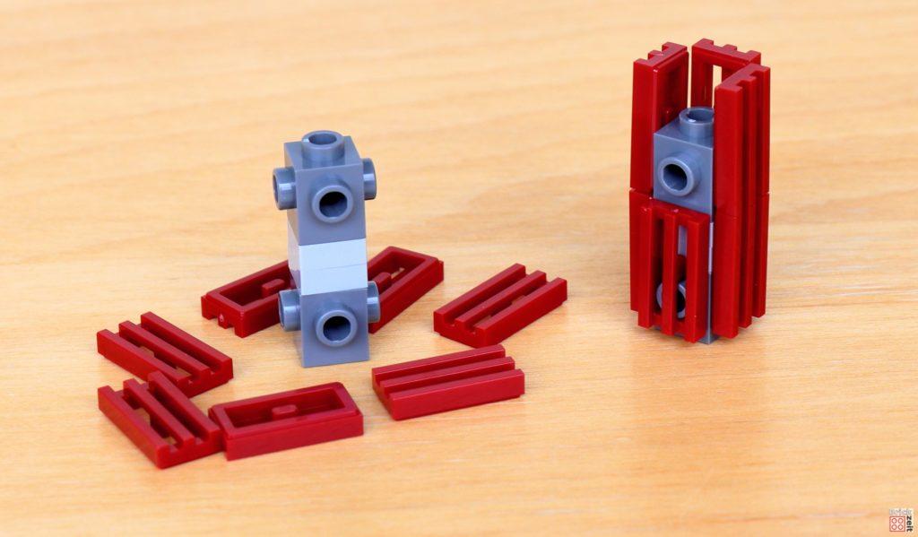 LEGO Star Wars 40407 - Zwei weitere Türme werden vorbereitet | ©2020 Brickzeit