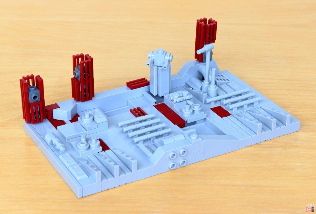 LEGO Star Wars 40407 - Fertige Oberfläche des zweiten Todessterns | ©2020 Brickzeit