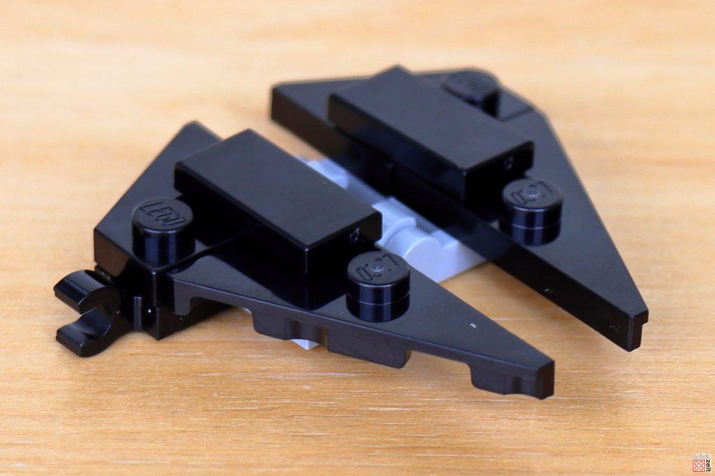 LEGO Star Wars 40407 - TIE-Interceptor Flügel mit Befestigungsgreifer | ©2020 Brickzeit
