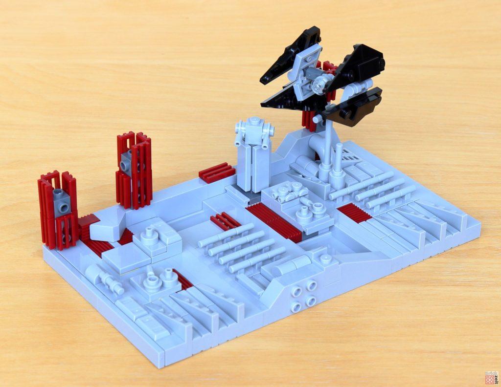 LEGO Star Wars 40407 - TIE-Interceptor auf Stange gesteckt | ©2020 Brickzeit