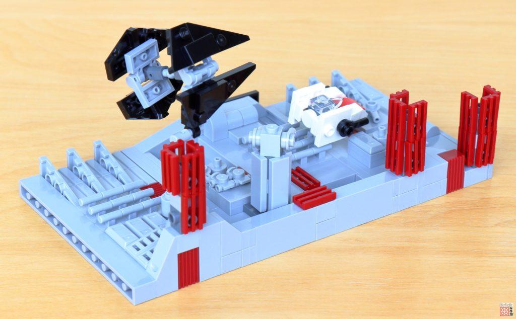LEGO Star Wars 40407 Schlacht um den zweiten Todesstern, hinten | ©2020 Brickzeit