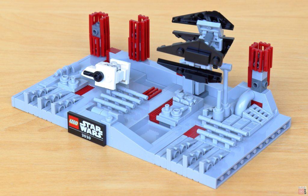 LEGO Star Wars 40407 Schlacht um den zweiten Todesstern, andere Seite | ©2020 Brickzeit