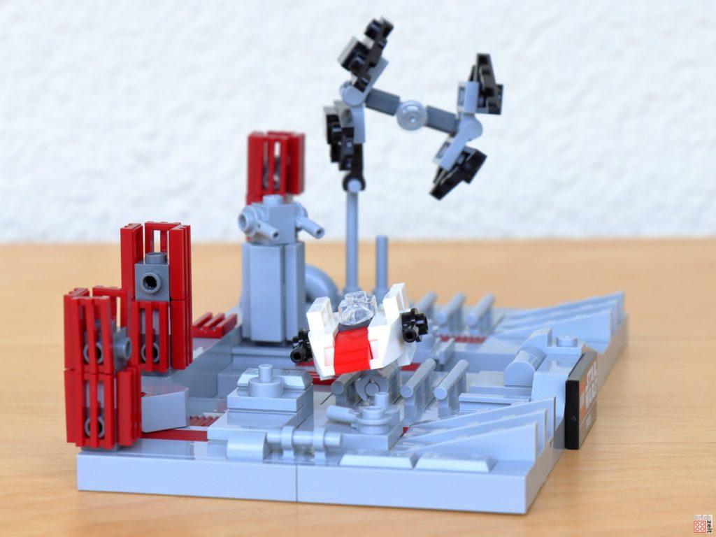 LEGO Star Wars 40407 - TIE-Interceptor verfolgt A-Wing | ©2020 Brickzeit