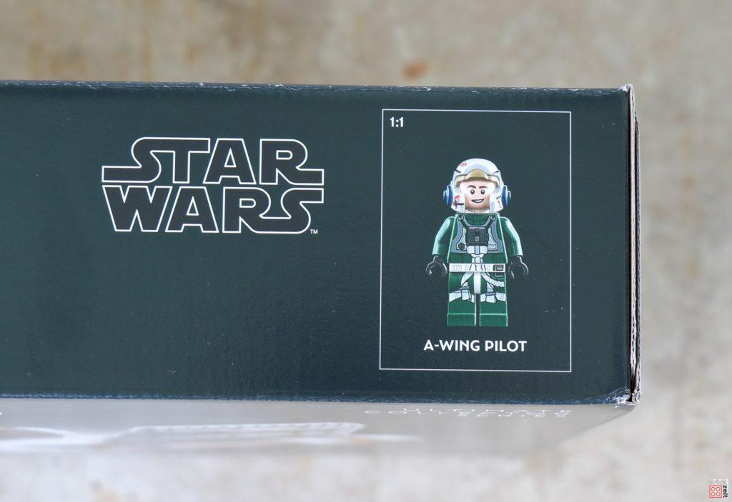 LEGO Star Wars 75275 UCS A-Wing - Packung, Minifigur | ©2020 Brickzeit
