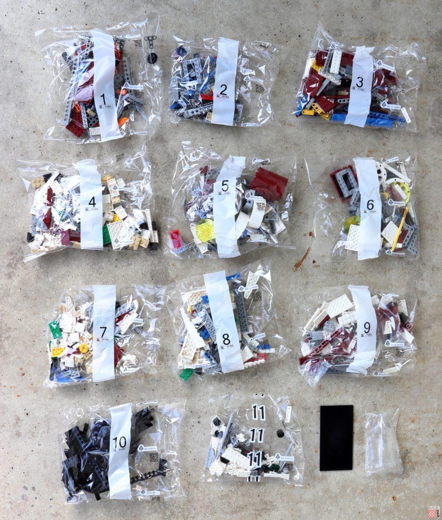 LEGO Star Wars 75275 UCS A-Wing - Inhalt | ©2020 Brickzeit
