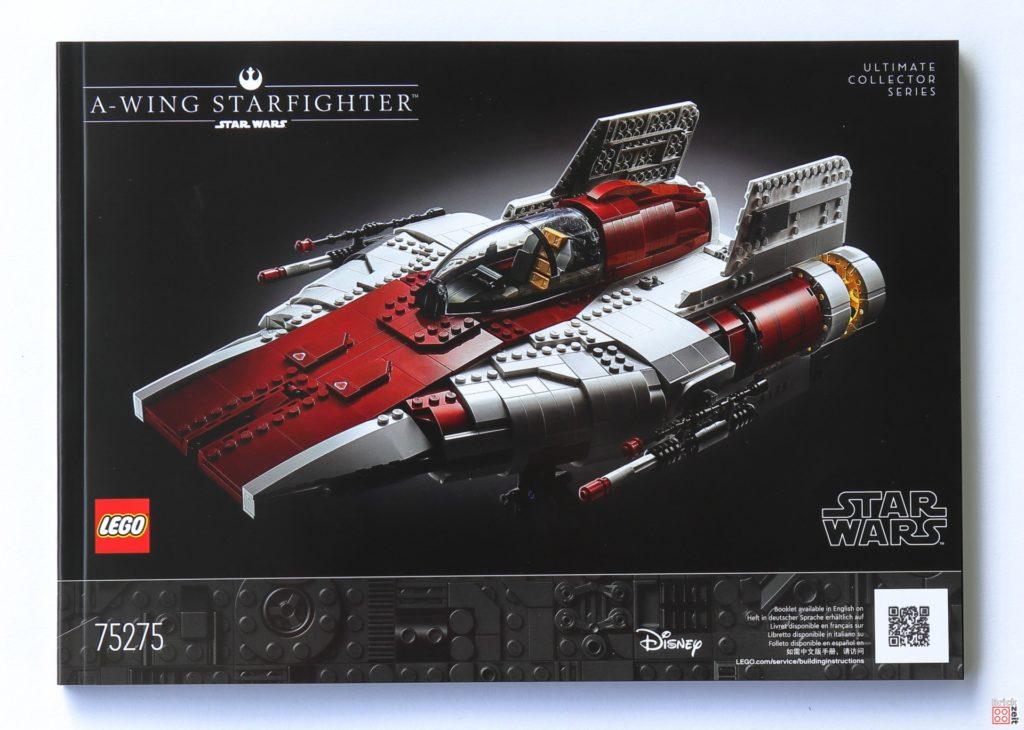 LEGO Star Wars 75275 UCS A-Wing - Anleitung | ©2020 Brickzeit