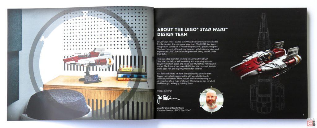 LEGO Star Wars 75275 UCS A-Wing - Booklet Seite 1 | ©2020 Brickzeit