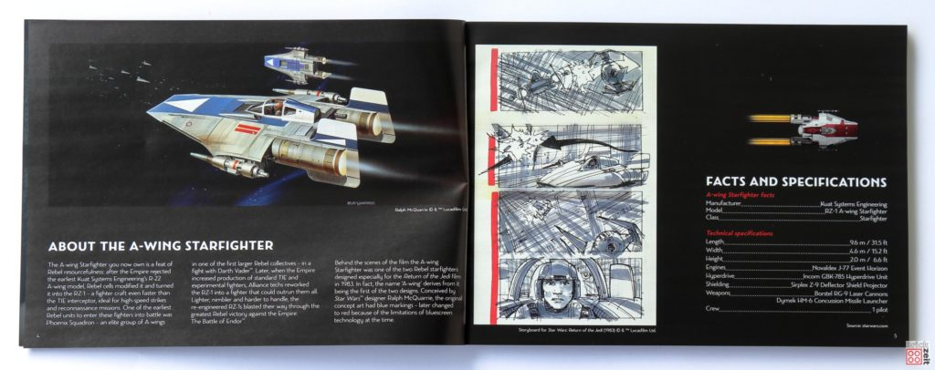 LEGO Star Wars 75275 UCS A-Wing - Booklet Seite 2 | ©2020 Brickzeit