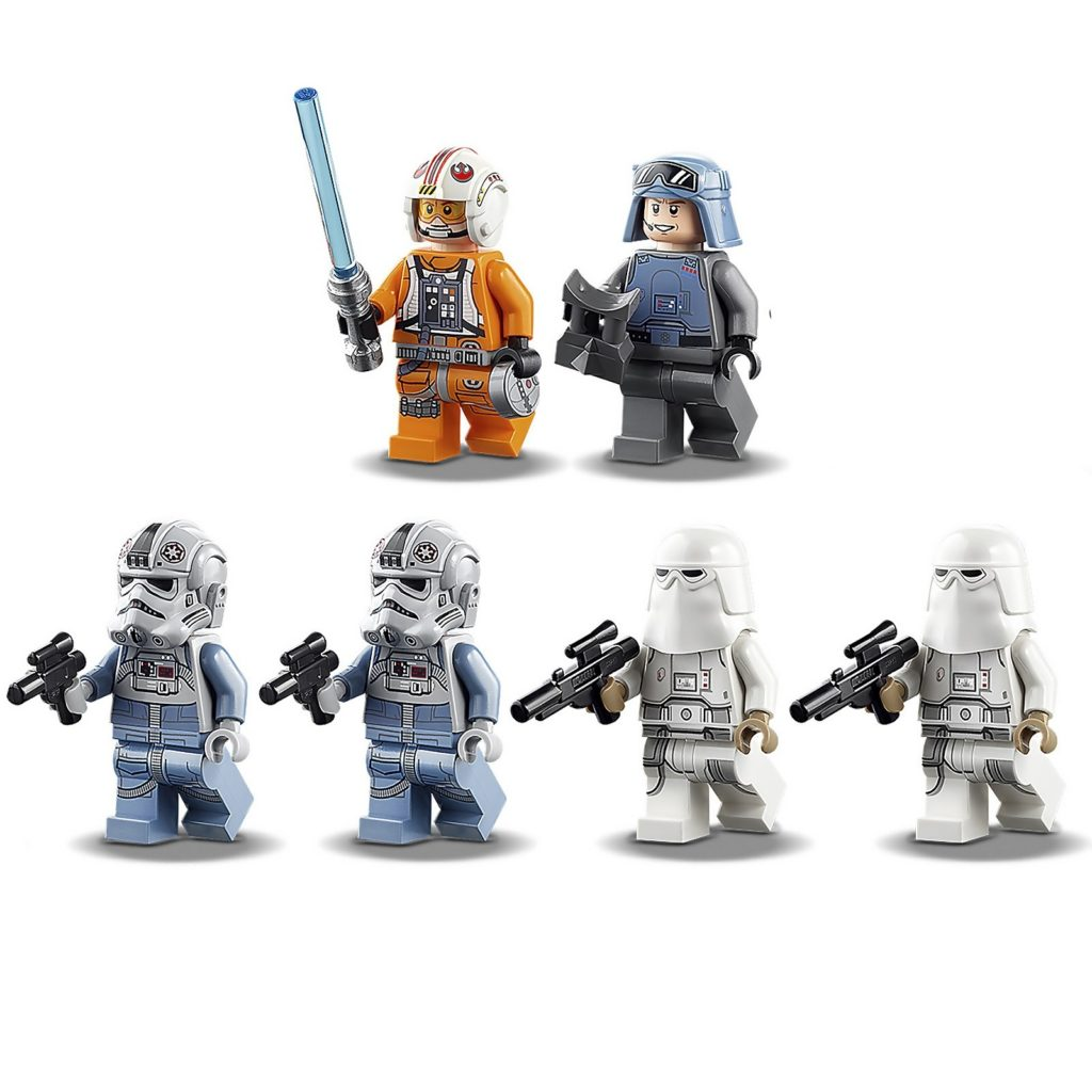 LEGO Star Wars 75288 AT-AT Minifiguren | ©LEGO Gruppe