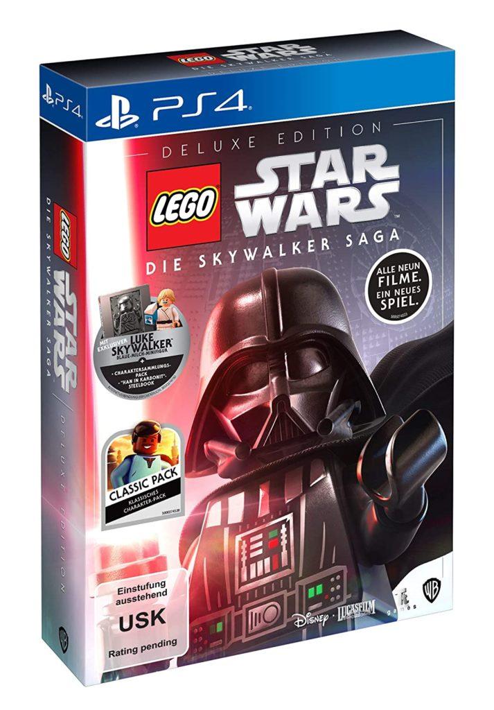 Cover Deluxe-Edition von LEGO Star Wars Die Skywalker Saga