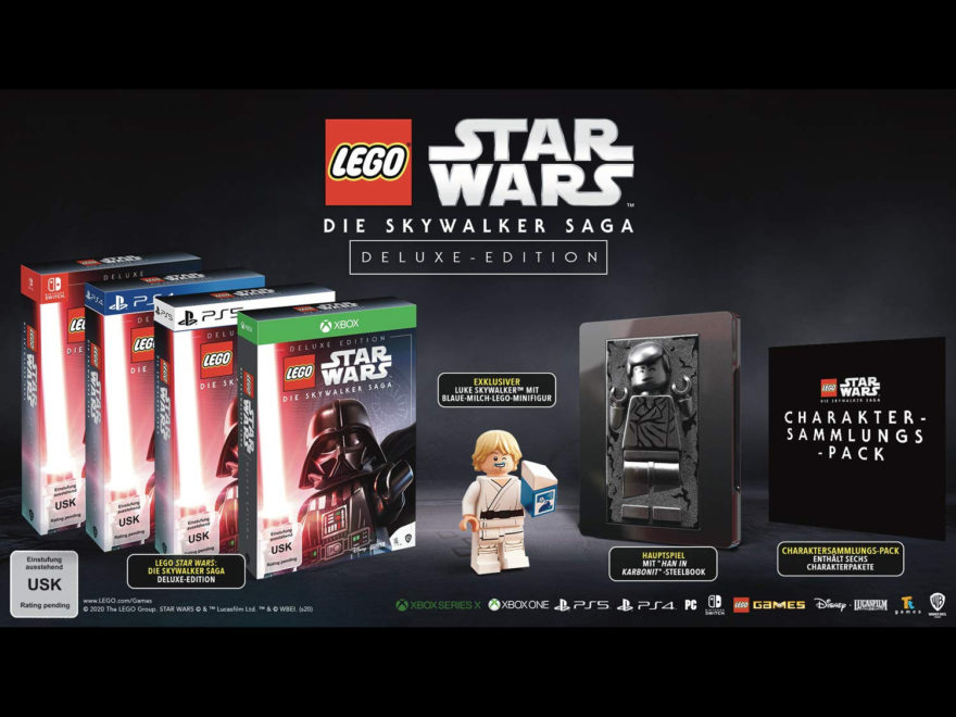 Deluxe-Edition von LEGO Star Wars Die Skywalker Saga