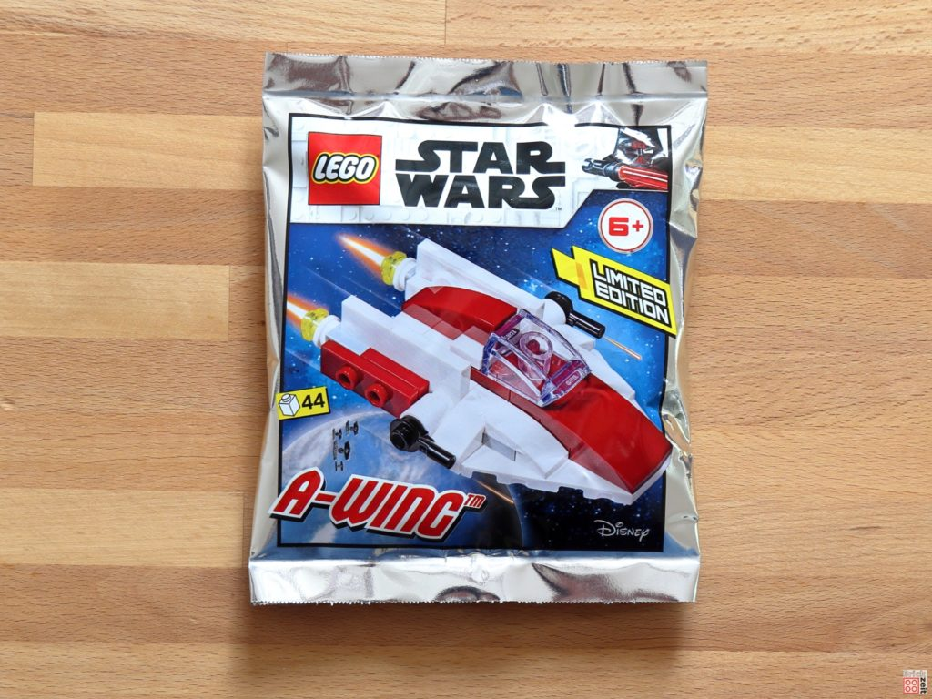 LEGO Star Wars Magazin Nr. 60 - A-Wing Polybag, Item-Nr: 912060 | ©2020 Brickzeit