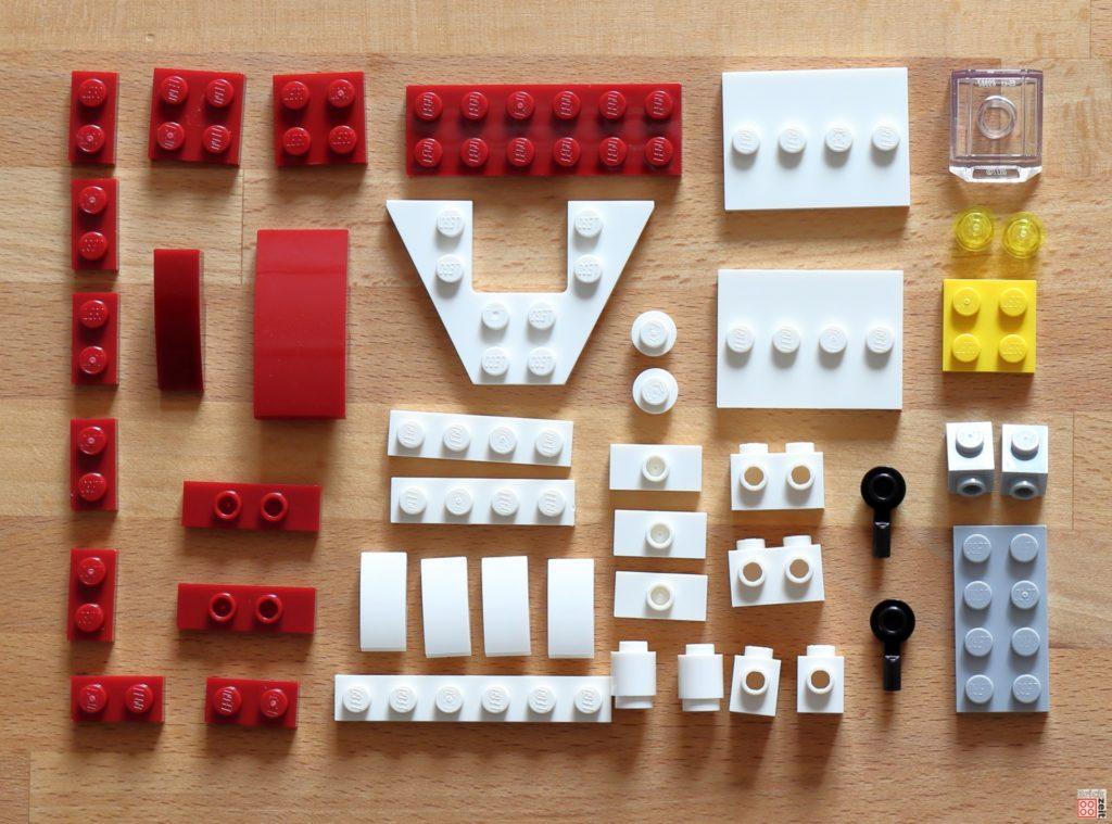LEGO Star Wars Magazin Nr. 60 - Einzelteile des A-Wings | ©2020 Brickzeit