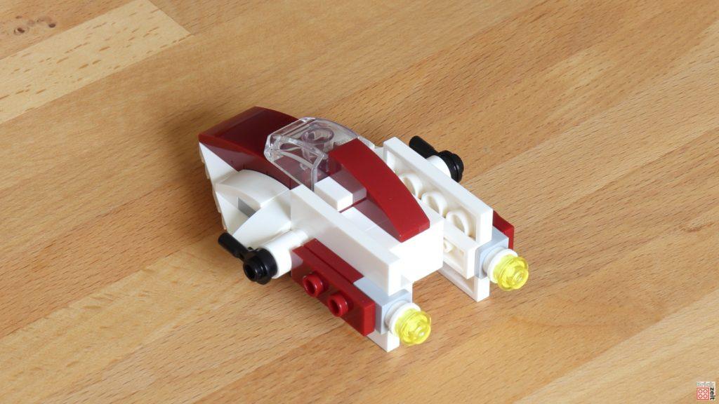 LEGO Star Wars Magazin Nr. 60 - A-Wing, hinten | ©2020 Brickzeit
