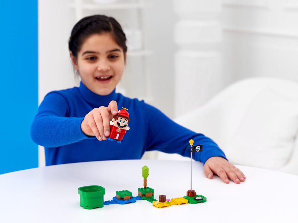 LEGO Super Mario 71371 Propeller-Mario - Anzug | ©LEGO Gruppe