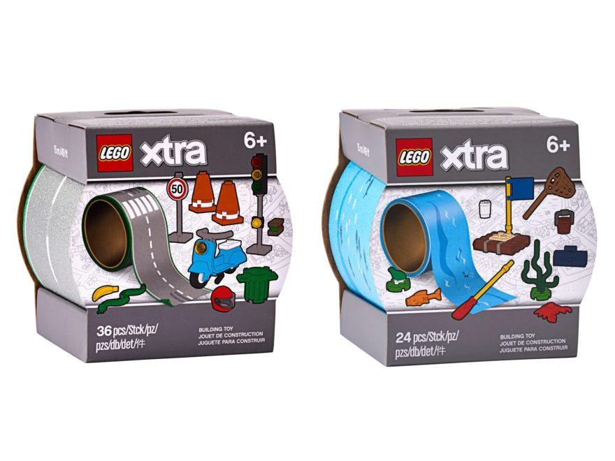 LEGO xtra Straßen- und Wasser Klebebänder ab 1. Juni 2020 verfügbar