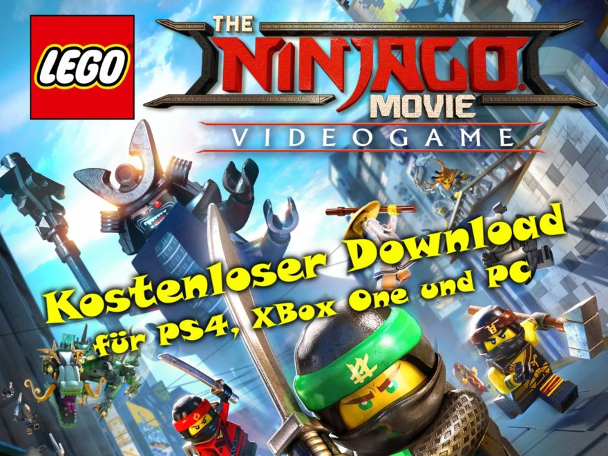 The LEGO NINJAGO MOVIE Videospiel kostenloster Download