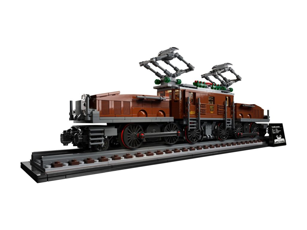 LEGO 10277 Krokodil Lokomotive | ©LEGO Gruppe