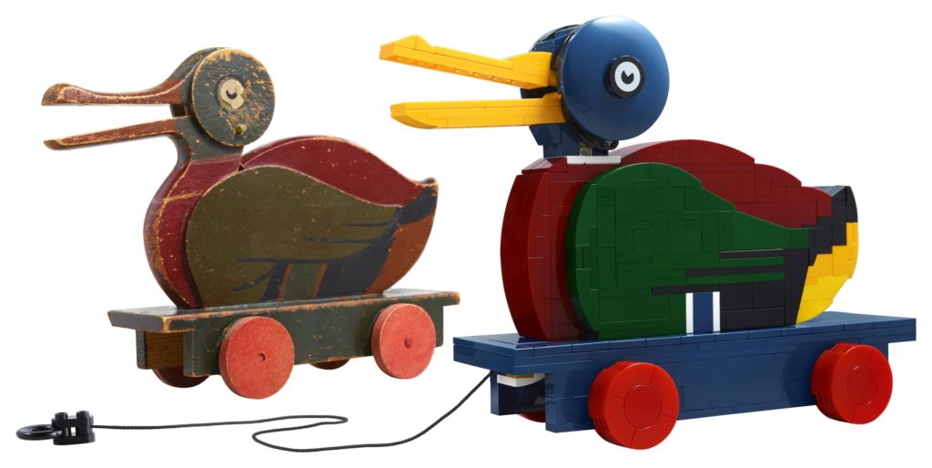 LEGO House exklusiv - LEGO 40501 The Wooden Duck | ©LEGO Gruppe