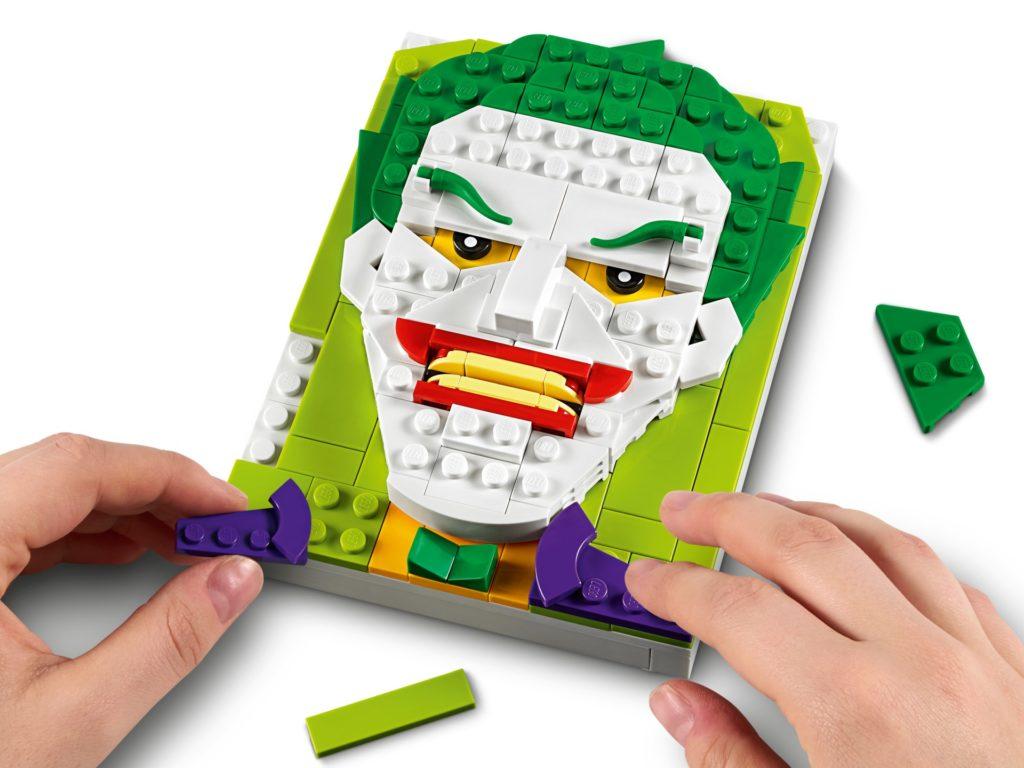 LEGO Brick Sketches 40428 Joker | ©LEGO Gruppe