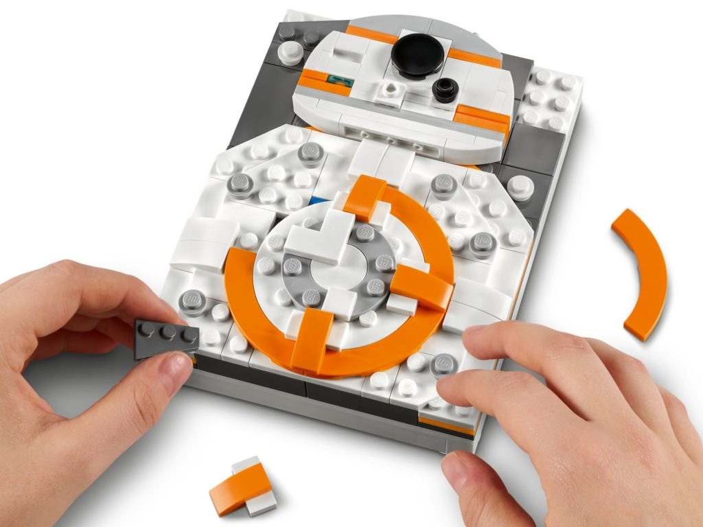 LEGO Brick Sketches 40431 BB-8 | ©LEGO Gruppe