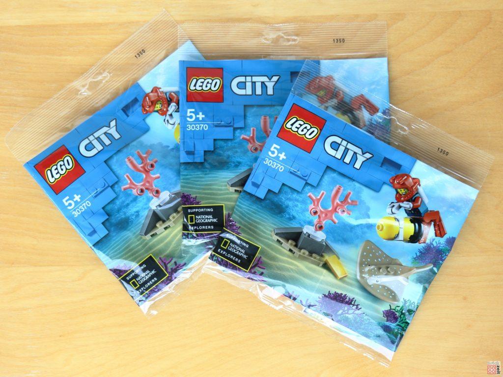 Gewinnt eines dieser LEGO City 30370 Tiefseetaucher Polybags | ©Brickzeit
