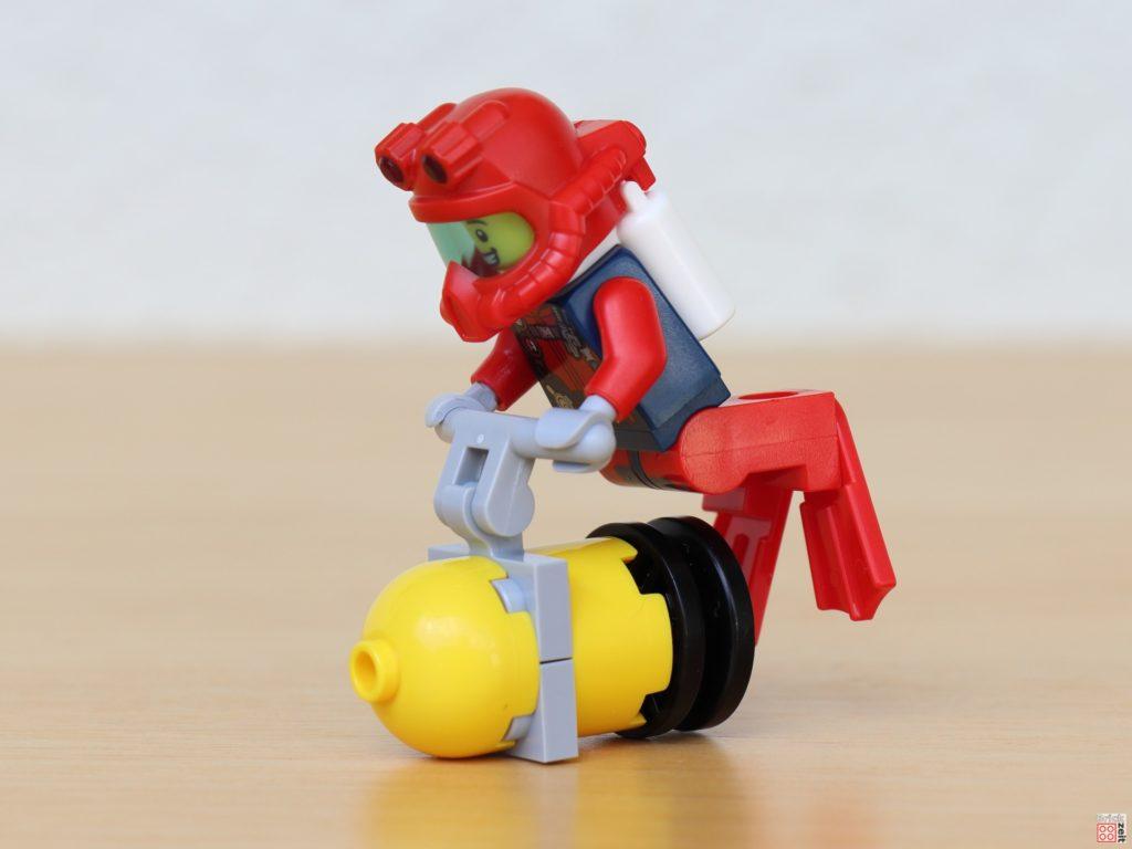 LEGO Taucher auf Tauchscooter | ©Brickzeit