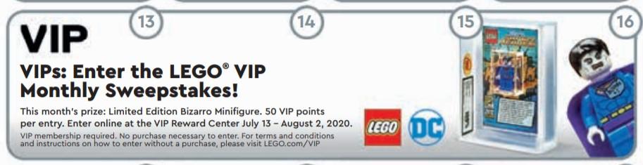 Verlosung - Limitierte LEGO DC Comic Bizarro Minifigur | ©LEGO Gruppe