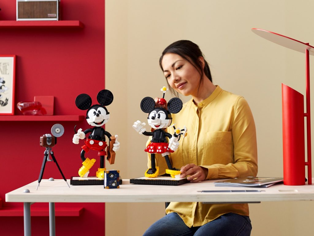LEGO Disney 43179 Micky Maus und Minnie Maus | ©LEGO Gruppe