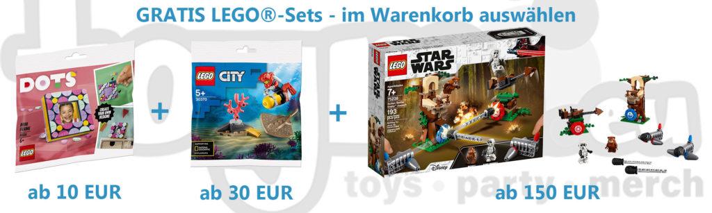 LEGO Gratisbeigaben bei toymi.eu