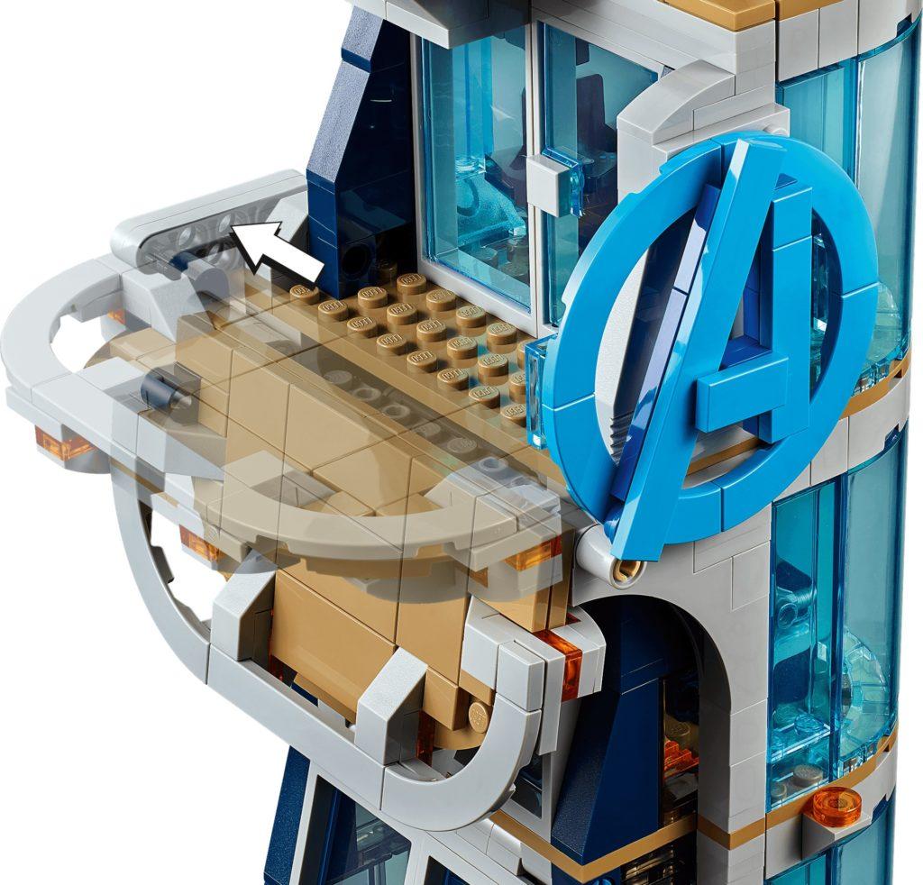 LEGO Marvel 76166 Avengers – Kräftemessen am Turm | ©LEGO Gruppe