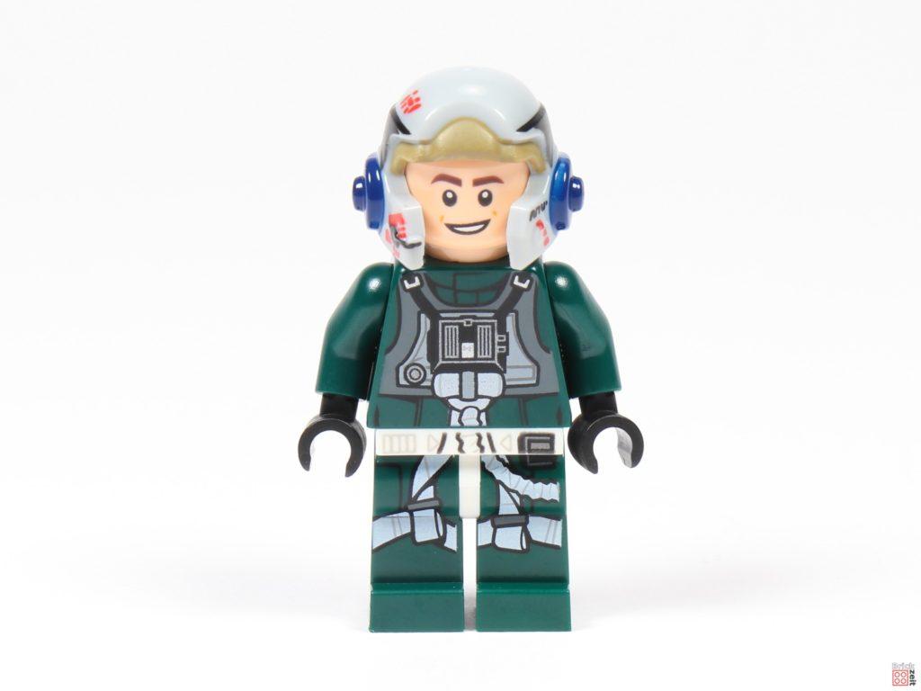 LEGO Star Wars 75275 - A-Wing Pilot, Vorderseite | ©2020 Brickzeit