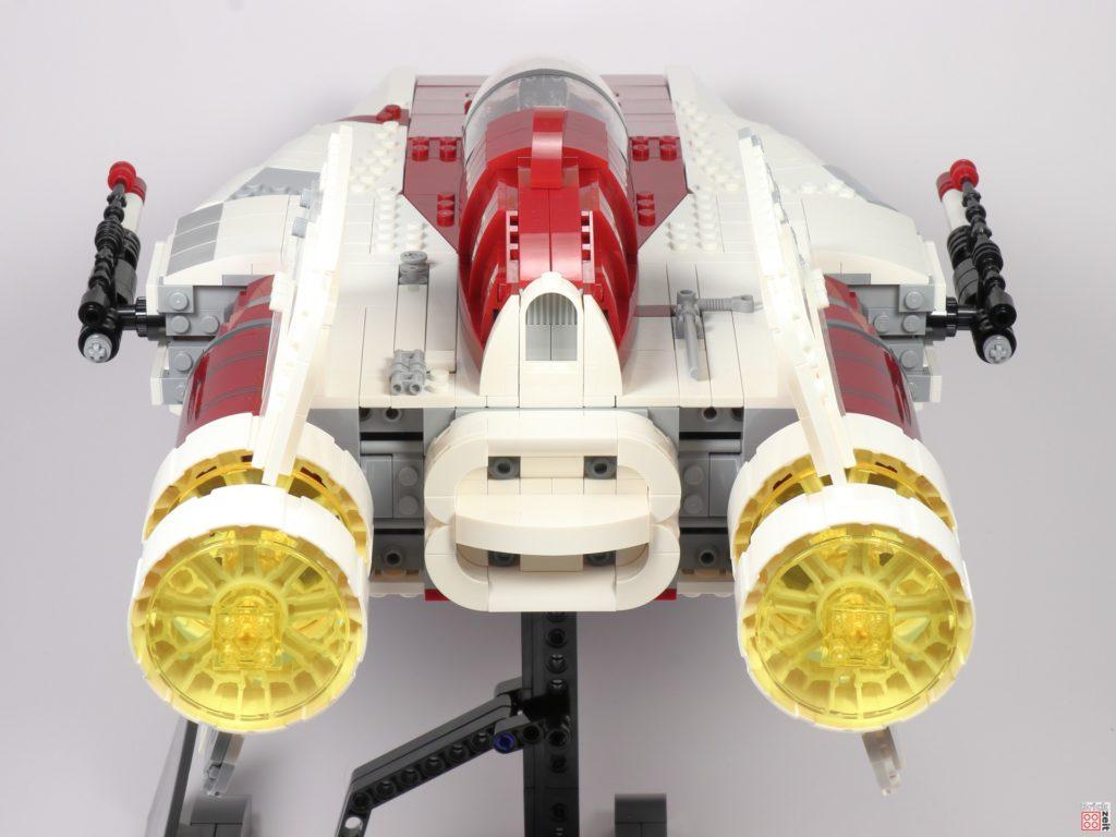 LEGO Star Wars 75275 UCS A-Wing Starfighter, hinten | ©2020 Brickzeit