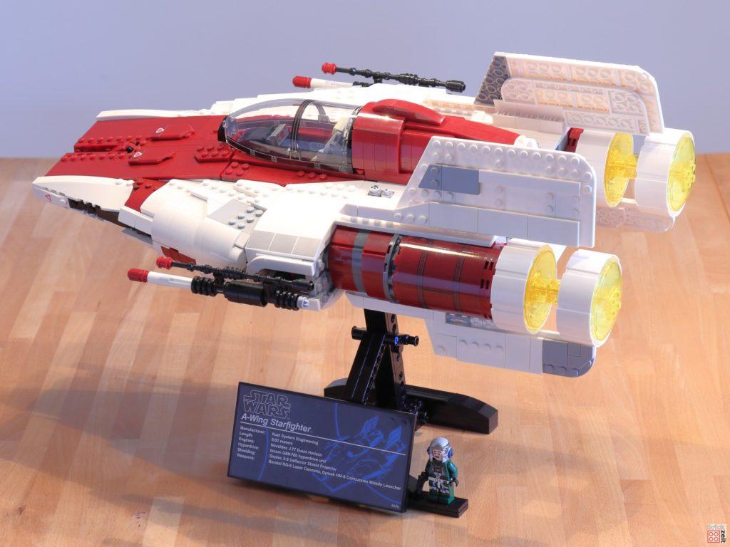LEGO Star Wars 75275 UCS A-Wing, Baster nach vorne | ©2020 Brickzeit