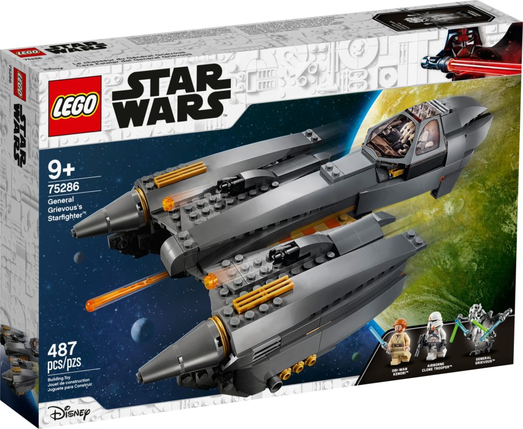 LEGO Star Wars 75286 General Grievous' Starfighter™ | ©LEGO Gruppe