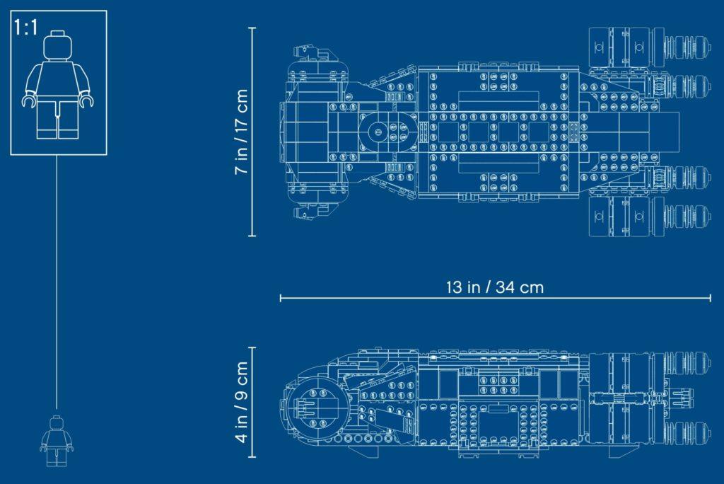 LEGO Star Wars 75293 I-TS Transportschiff der Rebellen | ©LEGO Gruppe