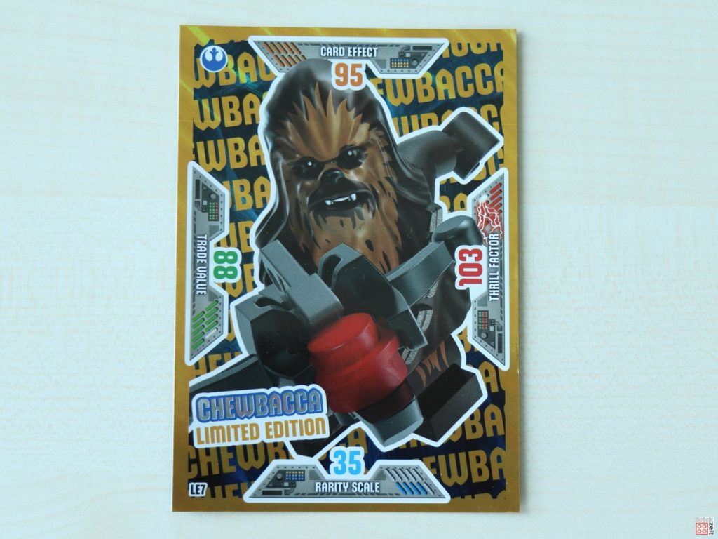 LEGO Star Wars Chewbacca Sammelkarte | ©Brickzeit