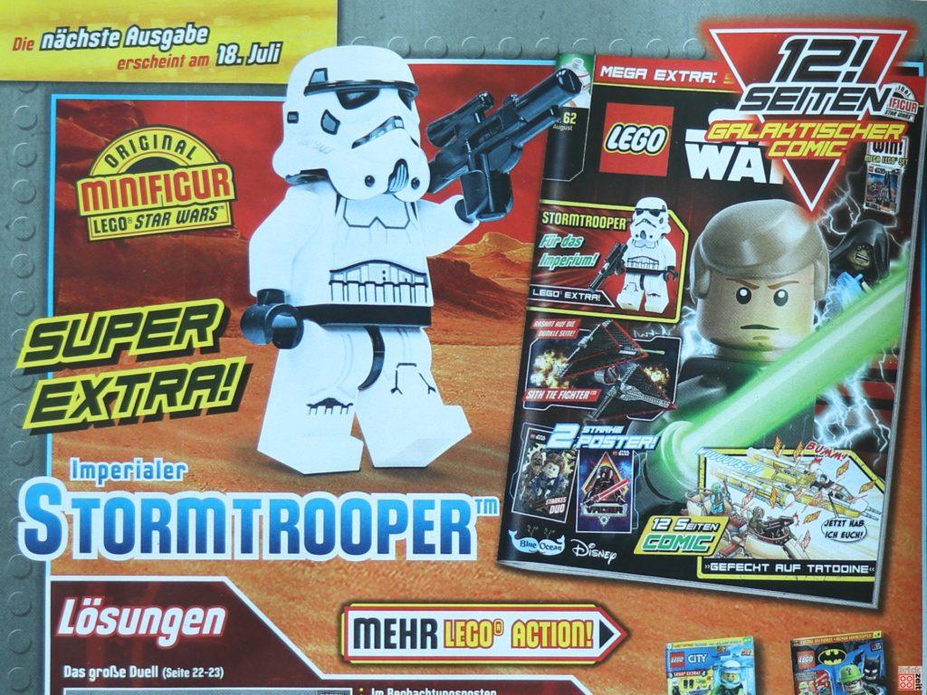 Heftvorschau auf das LEGO Star Wars Magazin Nr. 62 (August 2020) | ©Brickzeit