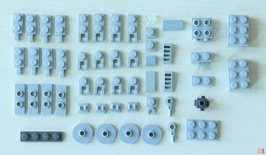 LEGO Star Wars AT-AT in Einzelteilen | ©Brickzeit | ©Brickzeit