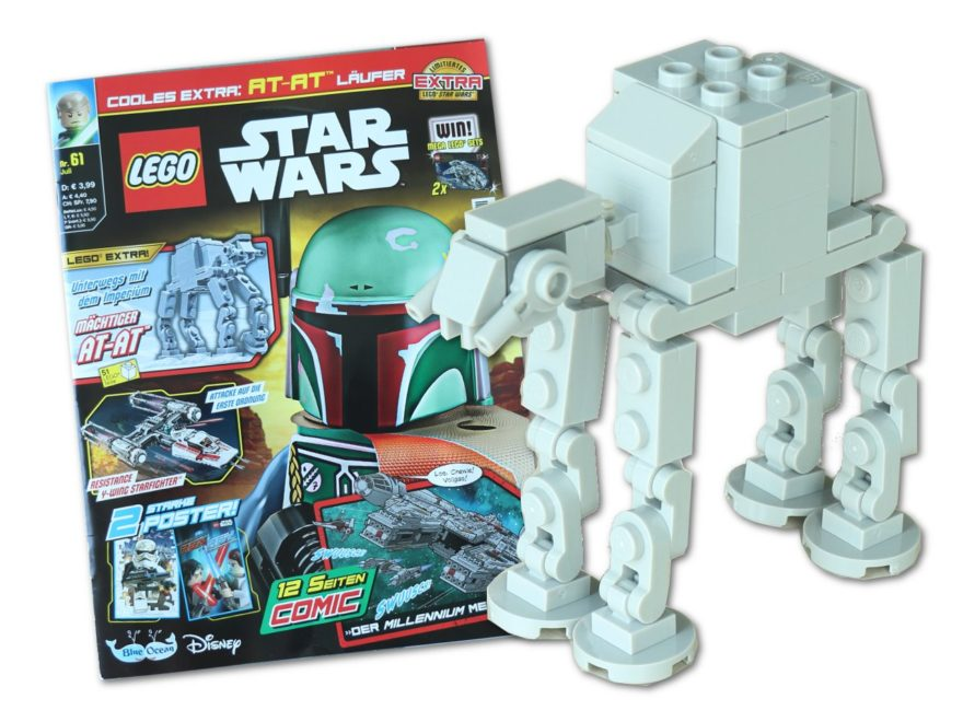 Review - LEGO® Star Wars™ Magazin Nr. 61 (Juli 2020) mit AT-AT™ | ©Brickzeit
