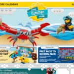 Amerikanischer LEGO Store Kalender Juli 2020 | ©LEGO Gruppe