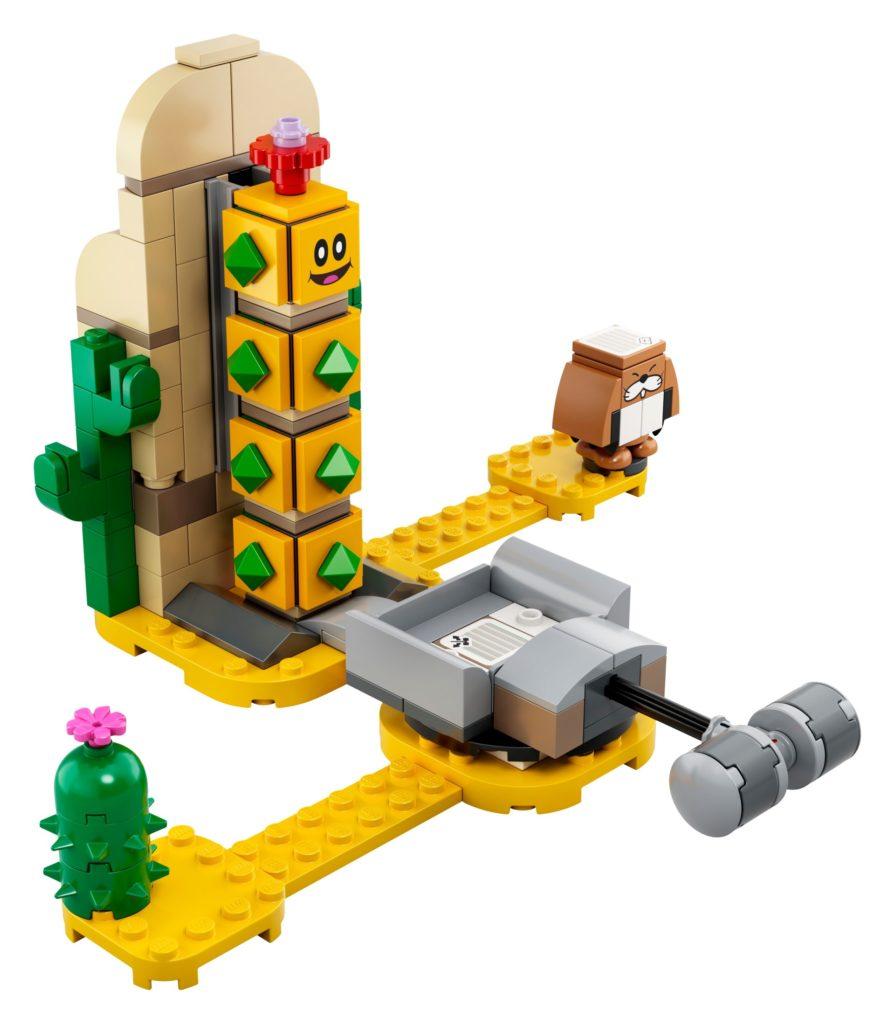 LEGO Super Mario 71363 Wüsten-Pokey – Erweiterungsset | ©LEGO Gruppe