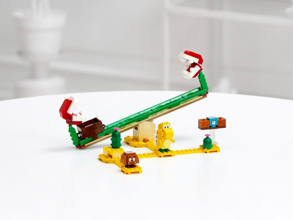 LEGO Super Mario 71365 Piranha-Pflanze-Powerwippe – Erweiterungsset | ©LEGO Gruppe