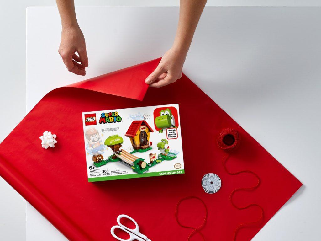 LEGO Super Mario 71367 Marios Haus und Yoshi – Erweiterungsset | ©LEGO Gruppe