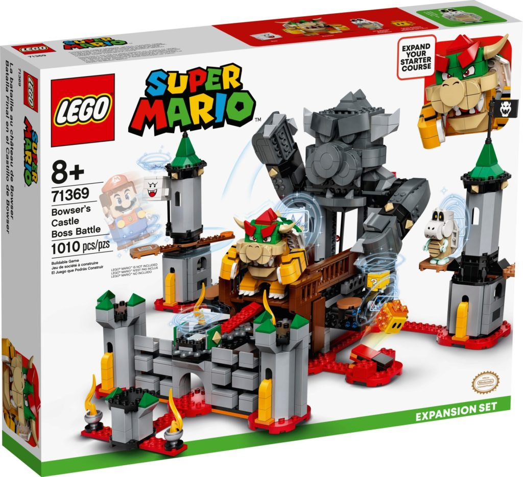 LEGO Super Mario 71369 Bowsers Festung – Erweiterungsset | ©LEGO Gruppe