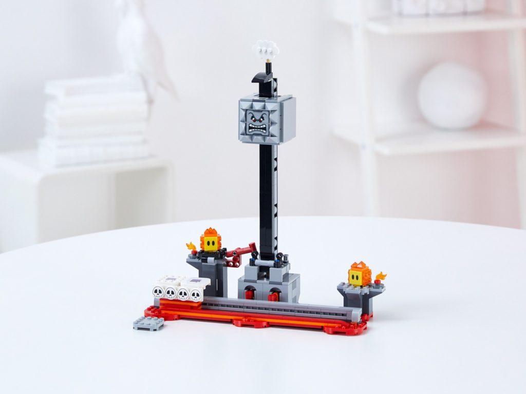 LEGO Super Mario 71376 Fallender Steinblock – Erweiterungsset | ©LEGO Gruppe