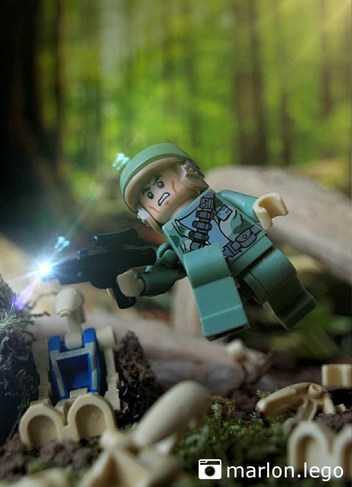 Rebellen-Soldat Kashyyyk Trooper | ©marlon.lego