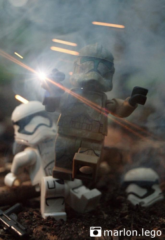 Kashyyyk Trooper und die Erste Ordnung | ©marlon.lego
